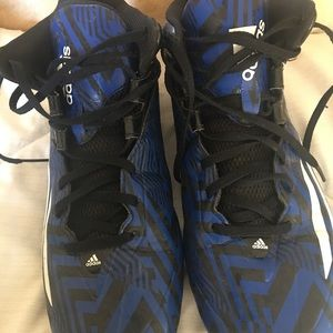 Adidas Blue Football Cleats size mens 11.5